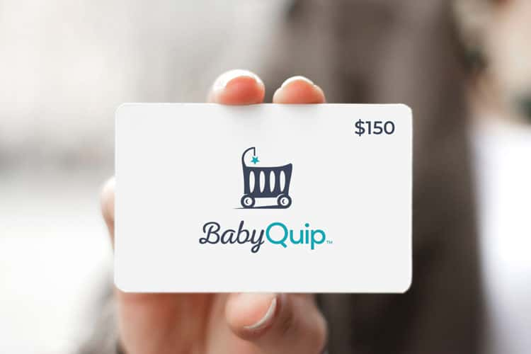best gift for traveling mom or dad - babyquip gift card