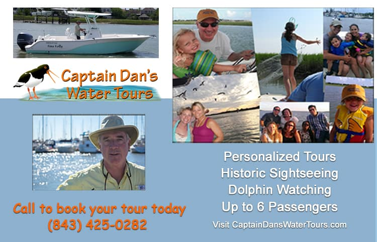 Captain Dan Water Tour Charleston, SC