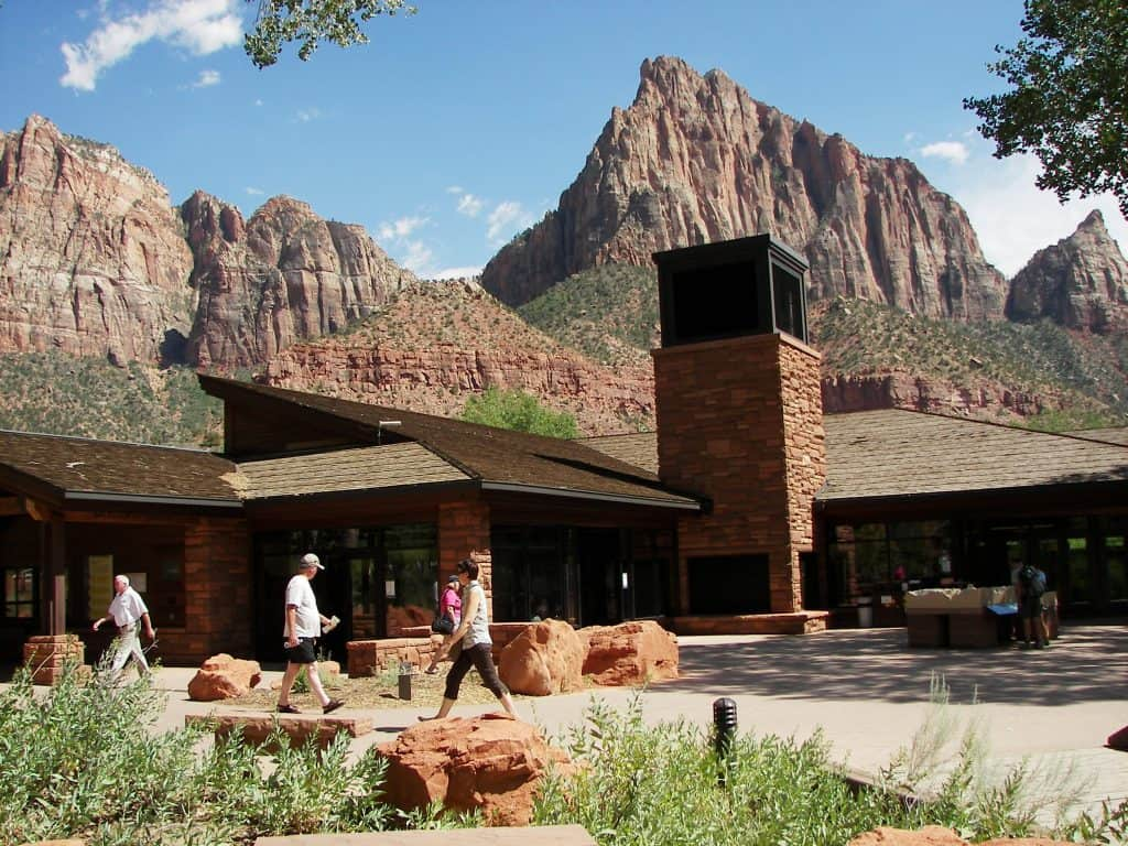 Zion National Park Visitor Center