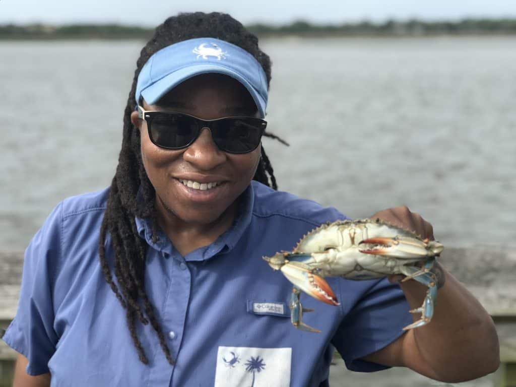 casual crabbing with tia charleston south carolina