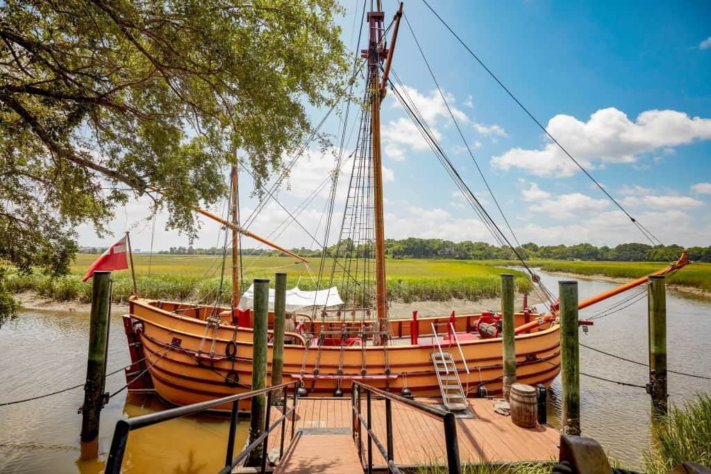 charles towne landing - Courtesy of the South Carolina State Park Service