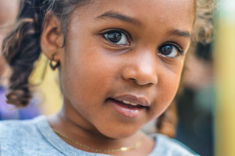 girl at childrens museum in lake tahoe