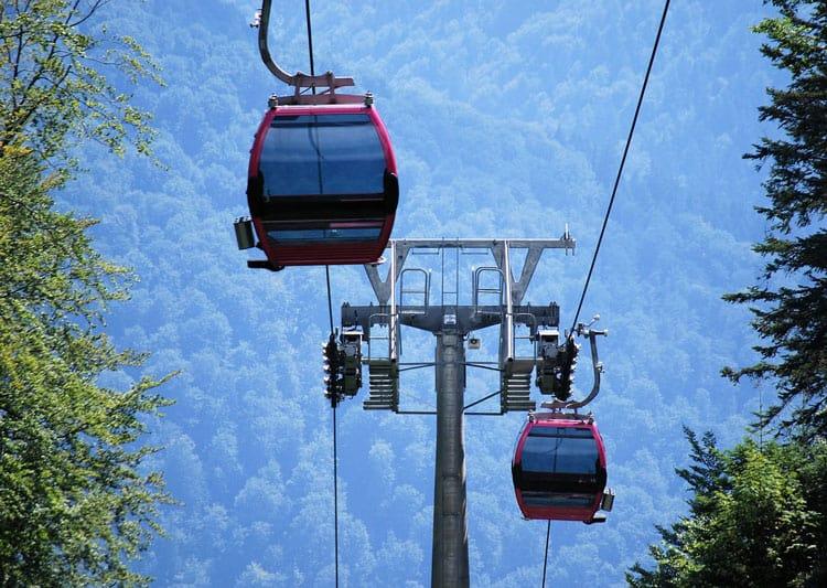 lake tahoe gondola ride at heavenly