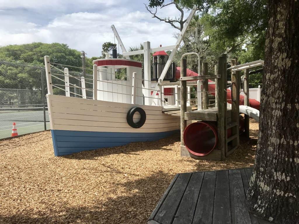 pirates cove playground charleston