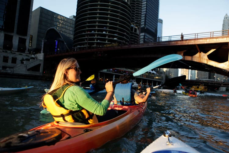 kayaking ghost tour in chicago