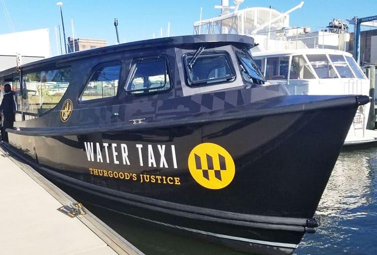 thurgoods water taxi