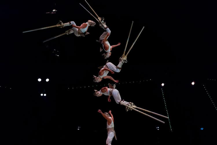circus act to see when vistiting las vegas with kids