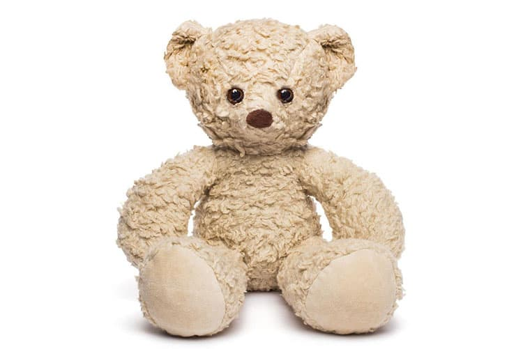 stuffed bear from Bears for Humanity