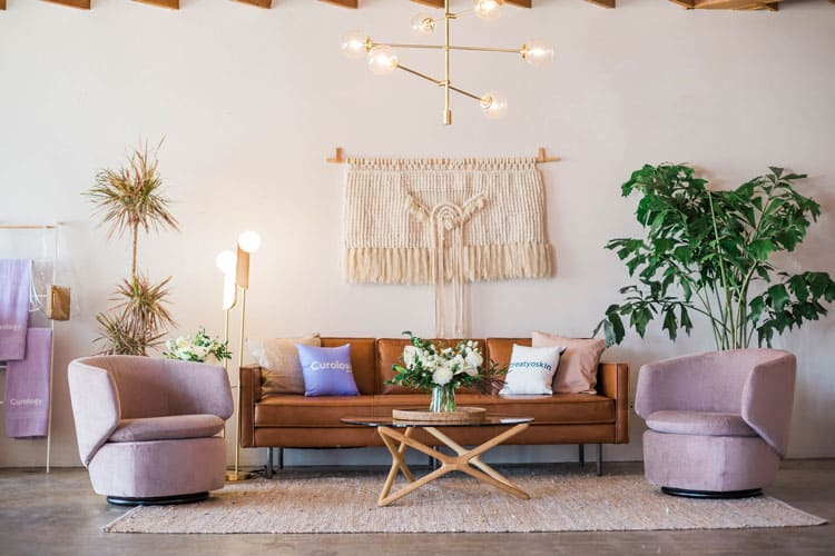 beautiful living room with plants