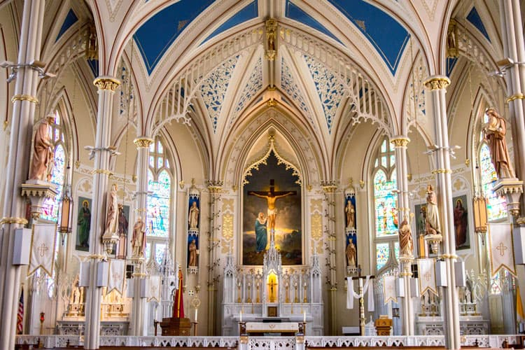 image of inside of church