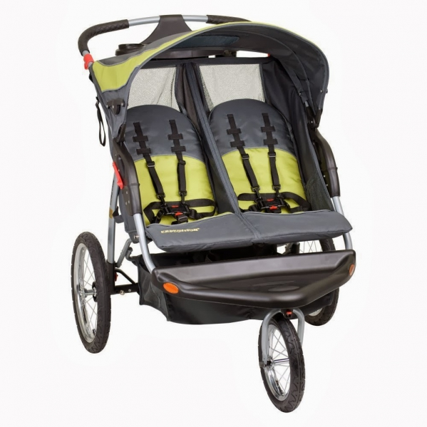 BabyQuip - Baby Equipment Rentals - Baby Trend Double Jogger Stroller - Baby Trend Double Jogger Stroller -