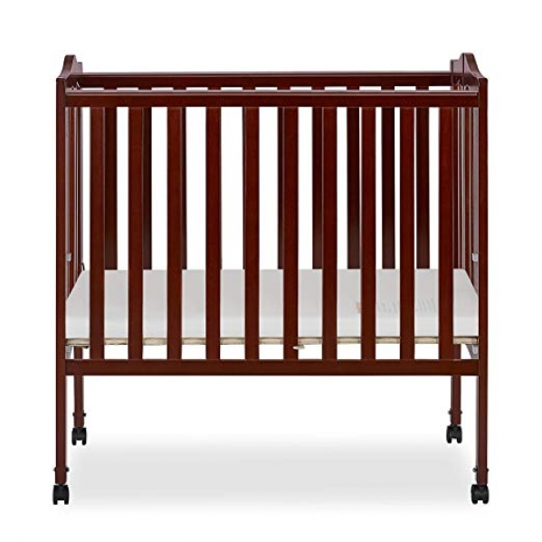 BabyQuip - Baby Equipment Rentals - Mini Crib with Mattress Pad and Organic Sheets - Mini Crib with Mattress Pad and Organic Sheets -