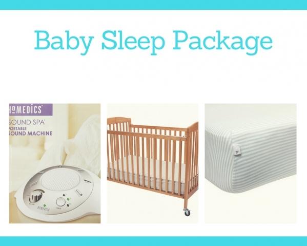 BabyQuip - Baby Equipment Rentals - Baby Sleep Package - Baby Sleep Package -