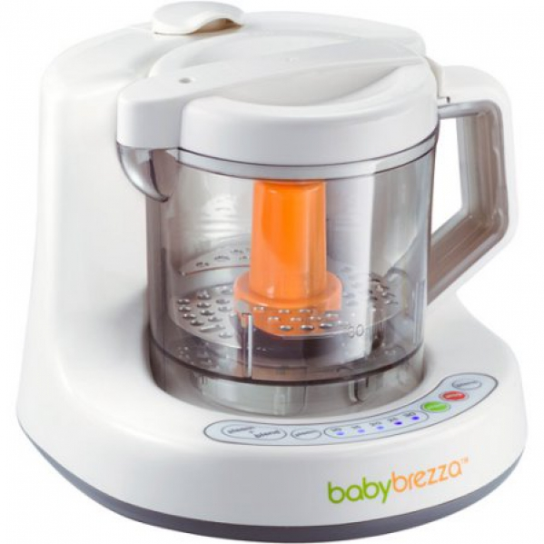 Baby food blender and steamer