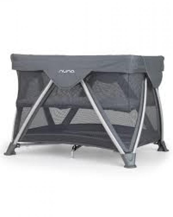 BabyQuip - Baby Equipment Rentals - Nuna SENA Aire Mini Playard with Linen - Nuna SENA Aire Mini Playard with Linen -