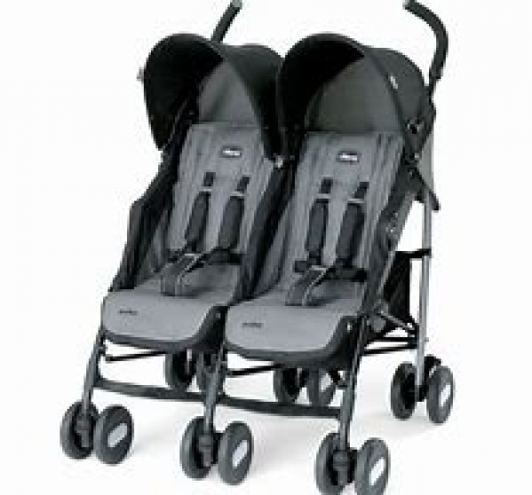 BabyQuip - Baby Equipment Rentals - Chicco Twin Umbrella Stroller - Chicco Twin Umbrella Stroller -