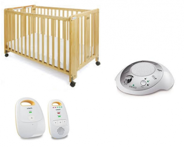 BabyQuip - Baby Equipment Rentals - Deluxe Sleep Package - DELIVERY ONLY - Deluxe Sleep Package - DELIVERY ONLY -