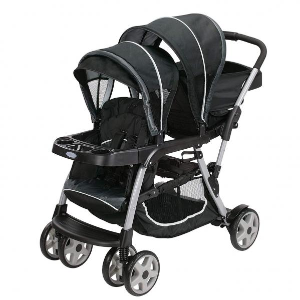 BabyQuip - Baby Equipment Rentals - Double Stroller, Graco Click Connect - Double Stroller, Graco Click Connect -