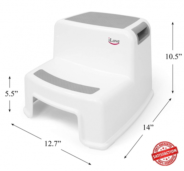 BabyQuip - Baby Equipment Rentals - 2-Step Foot Stool - 2-Step Foot Stool -