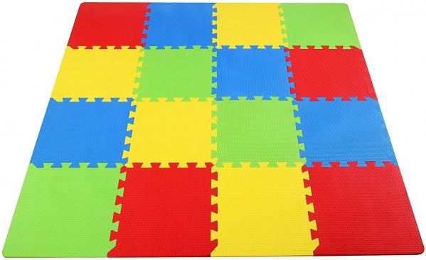 BabyQuip - Baby Equipment Rentals - Foam Play Mat (16 Tiles) - Foam Play Mat (16 Tiles) -