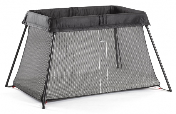BabyQuip - Baby Equipment Rentals - BABYBJORN Travel Crib Light - Black - BABYBJORN Travel Crib Light - Black -