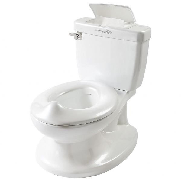 BabyQuip - Baby Equipment Rentals - Potty Chair with Flushing Sounds - Potty Chair with Flushing Sounds -