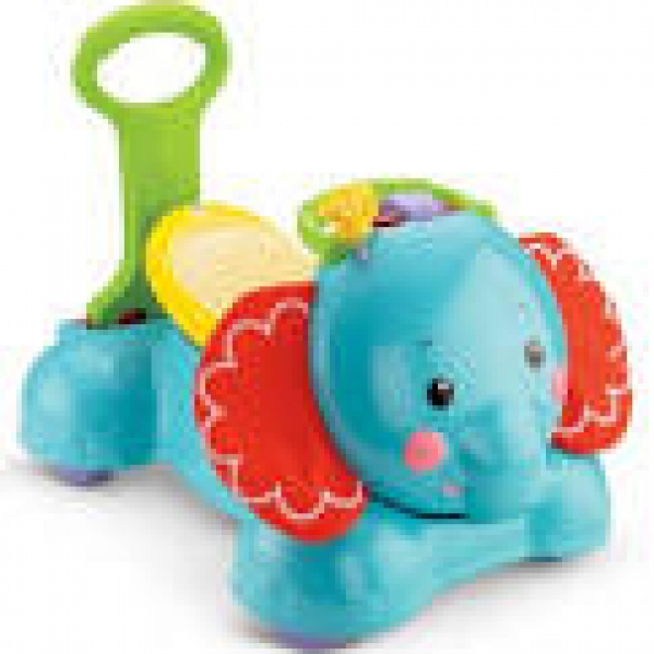 BabyQuip - Baby Equipment Rentals - Fisher-Price 3-in-1 Bounce, Stride & Ride Elephant - Fisher-Price 3-in-1 Bounce, Stride & Ride Elephant -