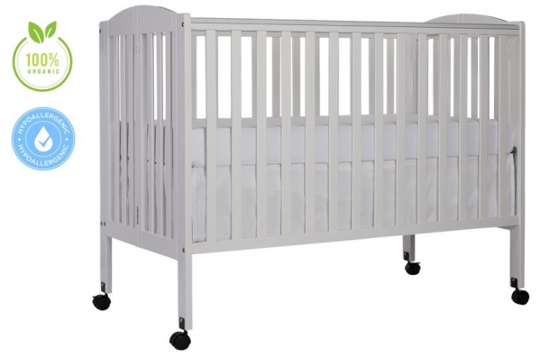 Full-Size Crib + Organic Linens + Mattress Upgrade