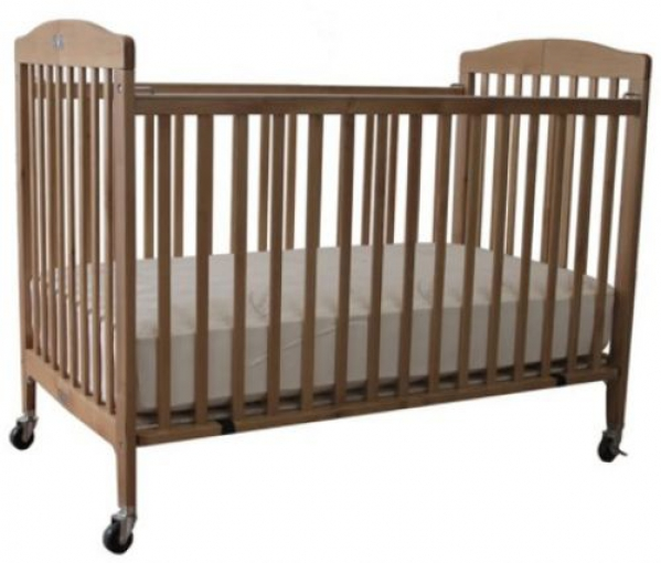 BabyQuip Baby Equipment Rentals - full size crib with linens - Adrian Wells - San Diego, California