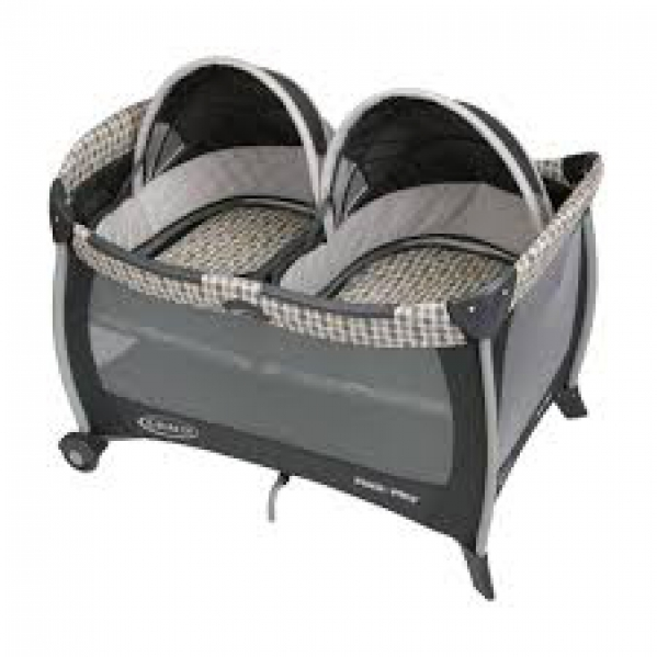 BabyQuip - Baby Equipment Rentals - Twin pack n play - Twin pack n play -