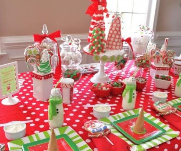 BabyQuip - Baby Equipment Rentals - Christmas Dinner Table - Christmas Dinner Table -
