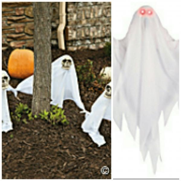 BabyQuip - Baby Equipment Rentals - Ghost yard stake - Ghost yard stake -