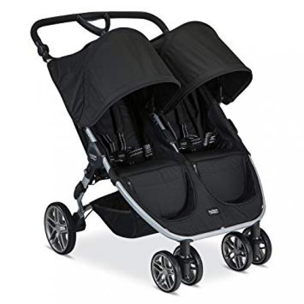 BabyQuip - Baby Equipment Rentals - Britax B-Agile Double Stroller - Britax B-Agile Double Stroller -