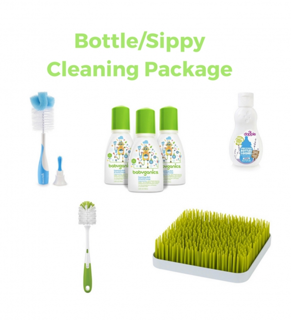 BabyQuip - Baby Equipment Rentals - Bottle and Sippy Cleaning Package  - Bottle and Sippy Cleaning Package  -