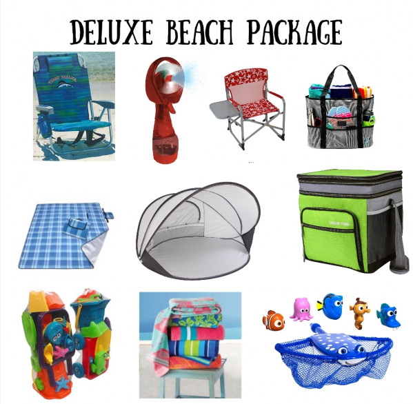 BabyQuip - Baby Equipment Rentals - Beach Deluxe Package - Beach Deluxe Package -
