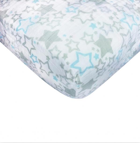 BabyQuip - Baby Equipment Rentals - Muslin Crib Sheet Upgrade  - Muslin Crib Sheet Upgrade  -