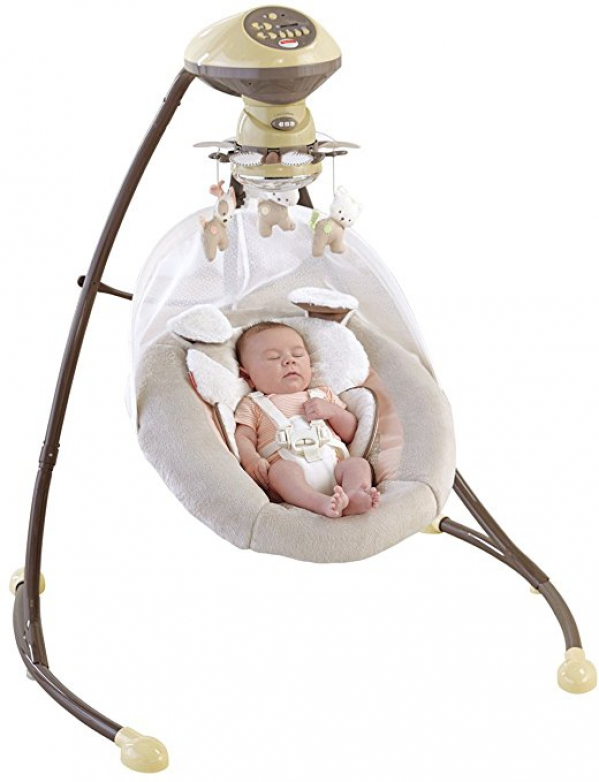 BabyQuip - Baby Equipment Rentals - Full Size Multi Speed/Multi Directional Swing - Full Size Multi Speed/Multi Directional Swing -