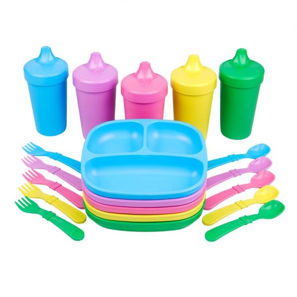 BabyQuip - Baby Equipment Rentals - Toddler Feeding Set - Toddler Feeding Set -