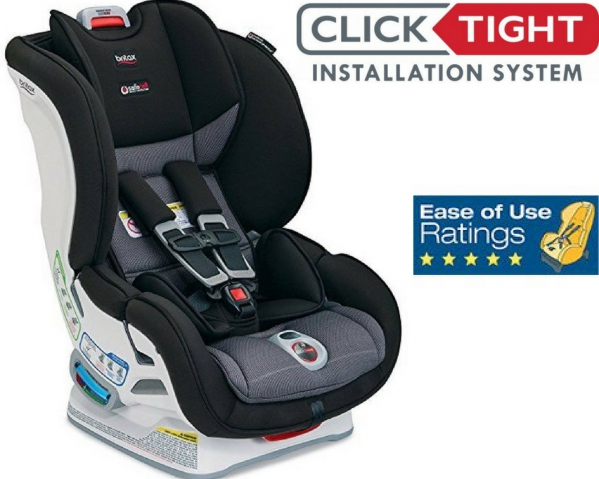 BabyQuip - Baby Equipment Rentals - Britax Clicktight Marathon Convertible Car Seat - Britax Clicktight Marathon Convertible Car Seat -