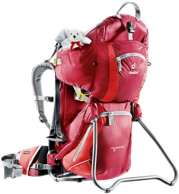 BabyQuip - Baby Equipment Rentals - Deuter Kid Comfort 2 Carrier Backpack - Premium - Deuter Kid Comfort 2 Carrier Backpack - Premium -