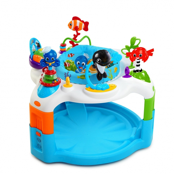 BabyQuip - Baby Equipment Rentals - Baby Einstein Rhythm of The Reef Activity Saucer - Baby Einstein Rhythm of The Reef Activity Saucer -