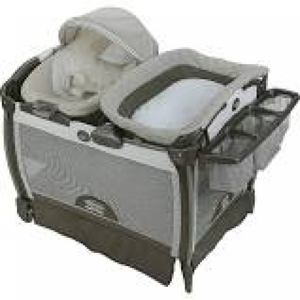 BabyQuip - Baby Equipment Rentals - Pack 'n Play Napper and Changing Table - Pack 'n Play Napper and Changing Table -