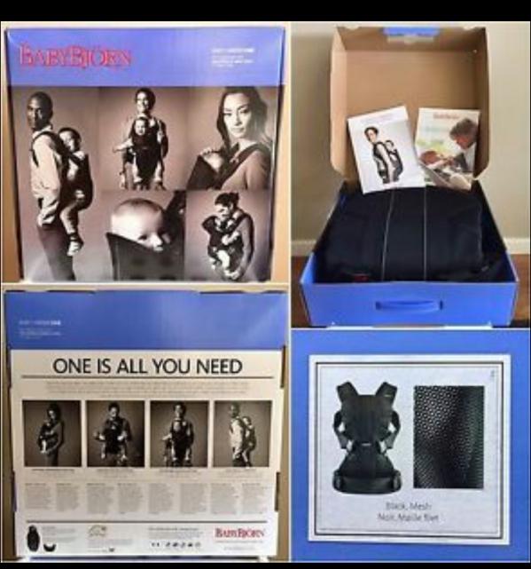 BabyQuip - Baby Equipment Rentals - Baby Bjorn Carrier (0-3years) - Baby Bjorn Carrier (0-3years) -