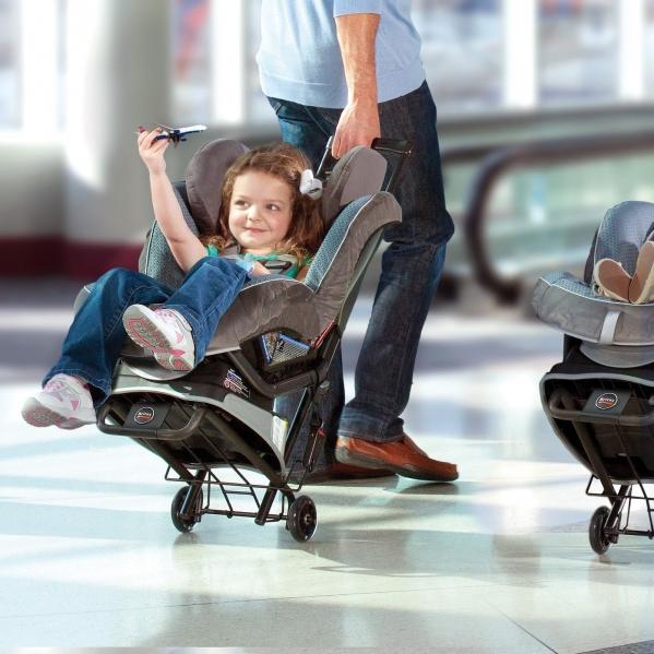 BabyQuip - Baby Equipment Rentals - Britax Car Seat Travel Cart - Britax Car Seat Travel Cart -