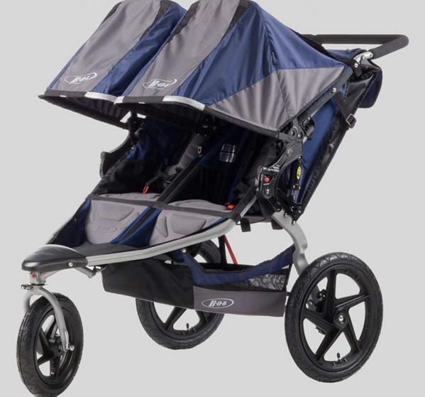 BabyQuip - Baby Equipment Rentals - B.O.B Double Stroller - B.O.B Double Stroller -