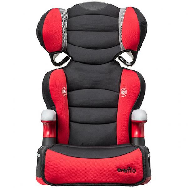 BabyQuip - Baby Equipment Rentals - Evenflo Big Kid High Back Booster Car Seat - Evenflo Big Kid High Back Booster Car Seat -