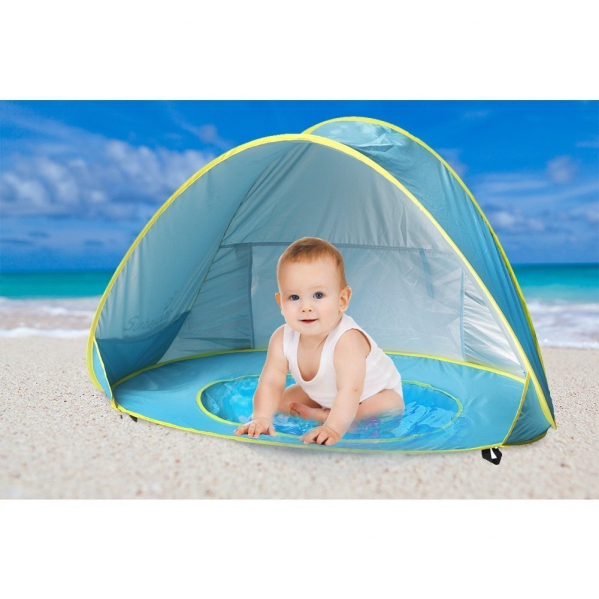BabyQuip - Baby Equipment Rentals - Baby Beach Tent Beach Umbrella, Sunba Youth Pop Up - Baby Beach Tent Beach Umbrella, Sunba Youth Pop Up -