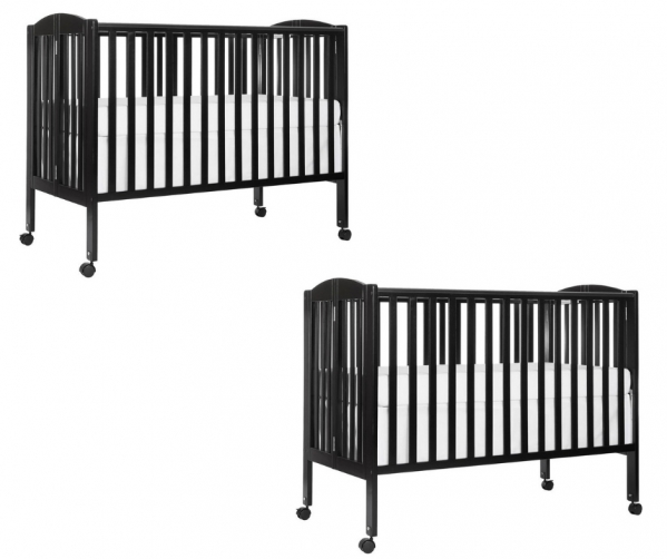BabyQuip - Baby Equipment Rentals - Two Full Size Cribs for Twins & Siblings - Two Full Size Cribs for Twins & Siblings -
