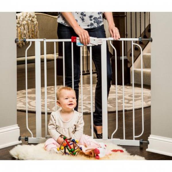 BabyQuip - Baby Equipment Rentals - Baby Gate: Pressure Mount, Easy Step Walk Through  - Baby Gate: Pressure Mount, Easy Step Walk Through  -