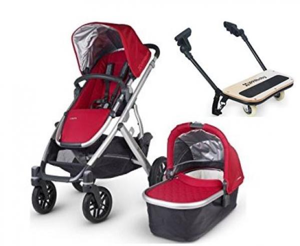 BabyQuip Baby Equipment Rentals - Uppababy Stroller plus bassinet & piggyback board - Kristin Ross - San Diego, California